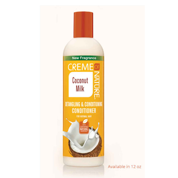 Crème Of Nature Coconut Milk Detangling and Conditioning Conditioner