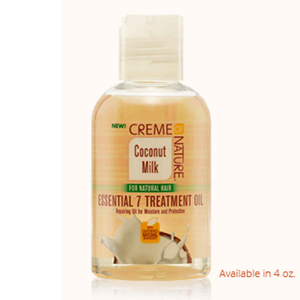 Crème Of Nature Coconut  Milk Essential 7 Treatment Oil