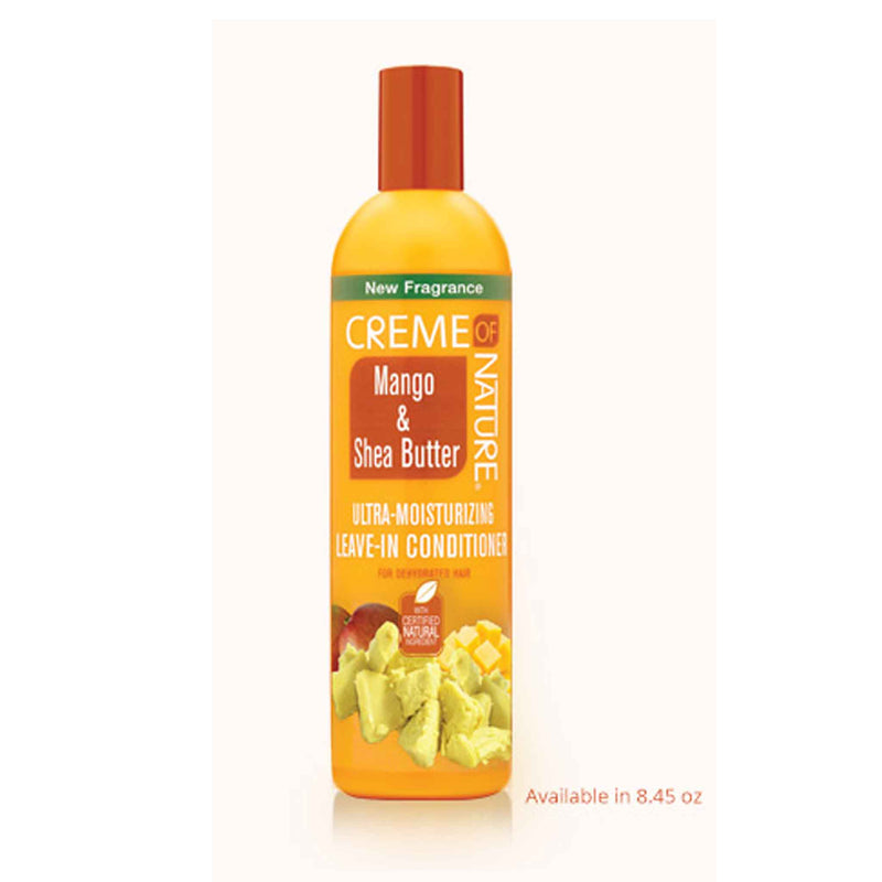 Crème Of Nature Exotic Mango and Shea Butter Ultra Moisturizing Leave-In Conditioner