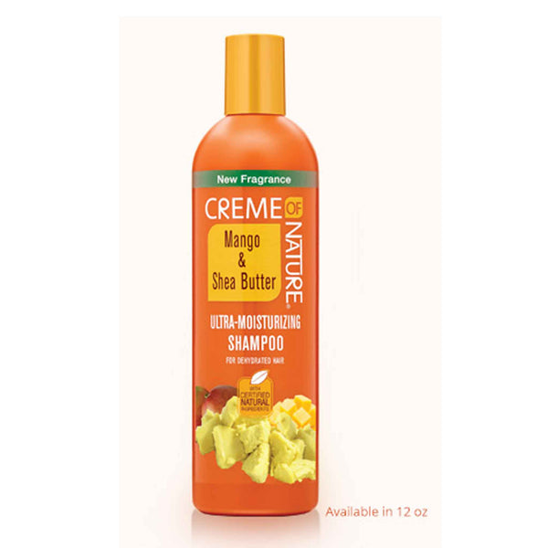 Crème Of Nature Exotic Mango and Shea Butter Ultra Moisturizing Conditioner Ultra-Moisturizing Shampoo
