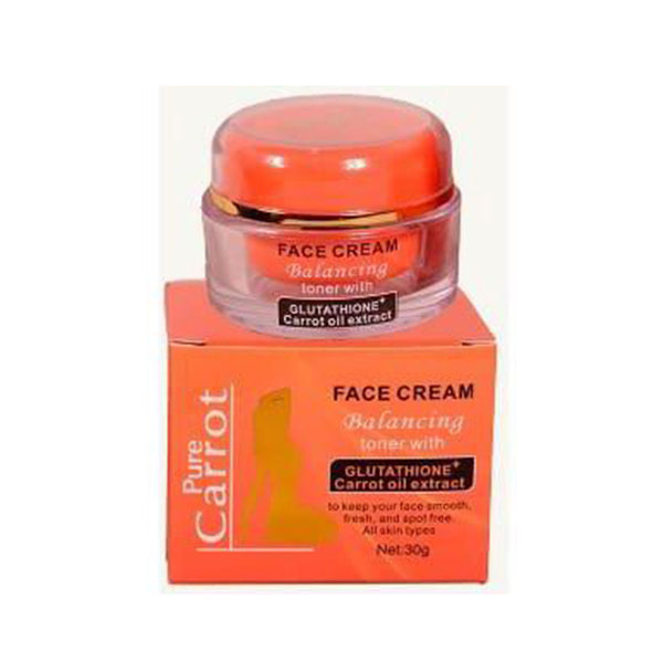 Pure Carrot Face Cream Balancing Toner 30g