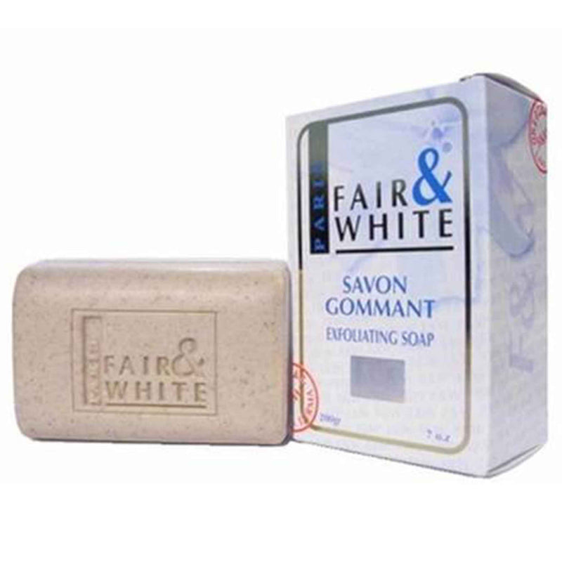 Fair and White Original Savon Gommant Exfoliating Soap (White) 7 oz / 200 gr
