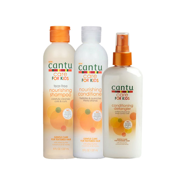 Cantu For Kids ( Shampoo, Leave In Conditioner and Conditioner ) 3pc Sets