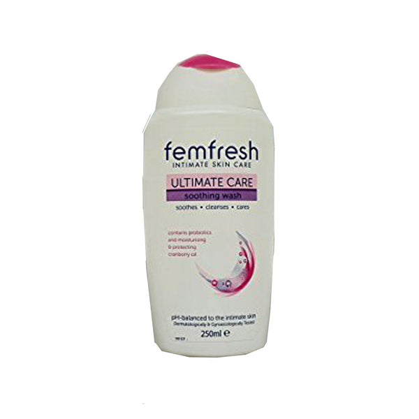 Femfresh 250ml Ultimate Care Soothing Wash,Ph Balanced