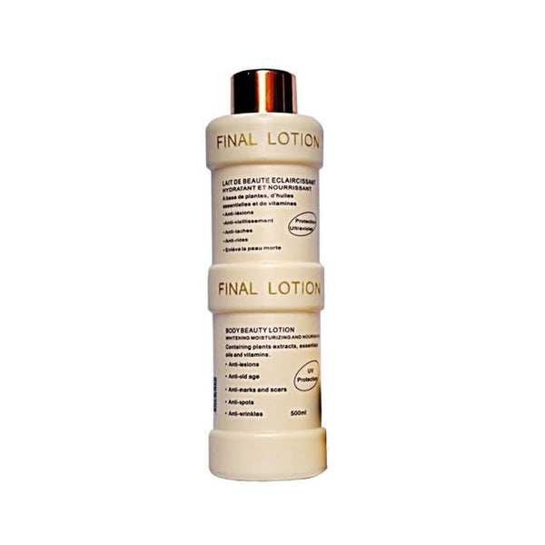 Final White Final Body Lotion