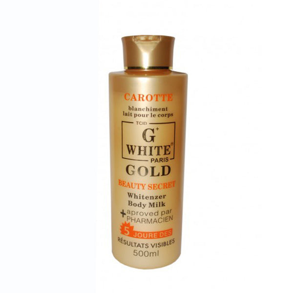 G White  Whitenizer Body Milk Lotion 500ml