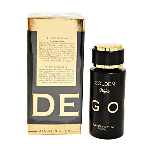 Golden Nights for Men - Eau de Parfum, 100ml