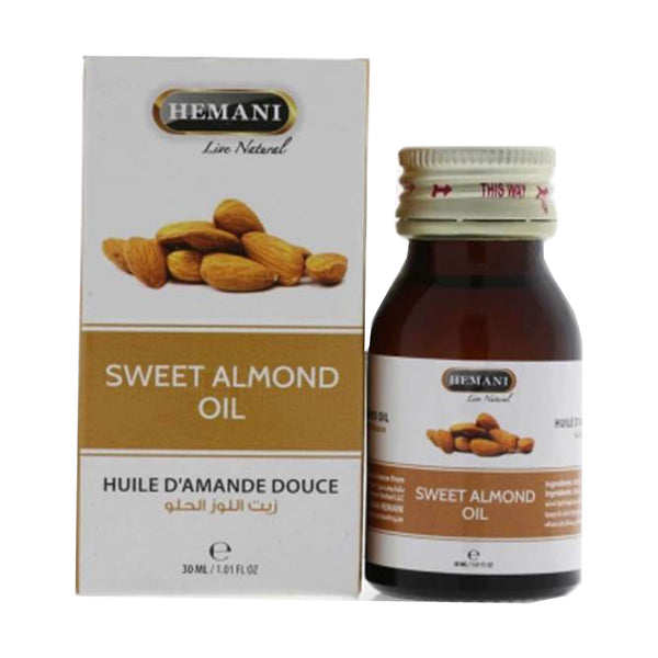 Hemani Sweet Almond Oil - 30ml