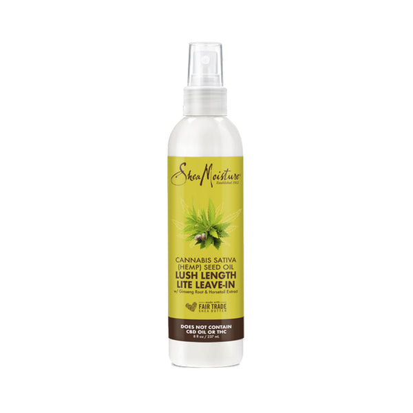Shea Moisture Cannabis Sativa (Hemp) Seed Oil & Ginseng Lush Length Lite Leave-In