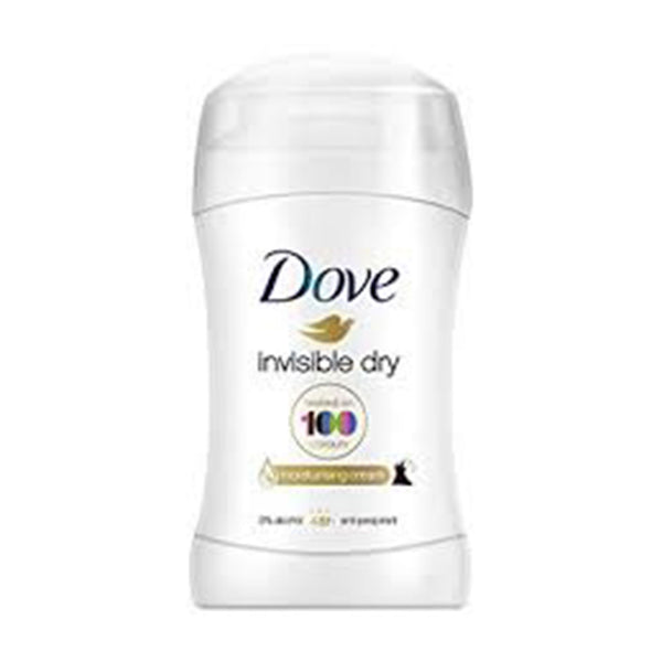 Dove Invisible Dry Antiperspirant Deodorant Stick, 40 ml