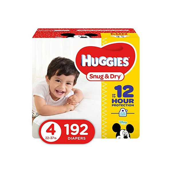 Huggies Snug & Dry Diapers, Size 4