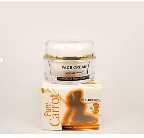 Pure Carrot Age Defying Flawless Facial Brightening Cream