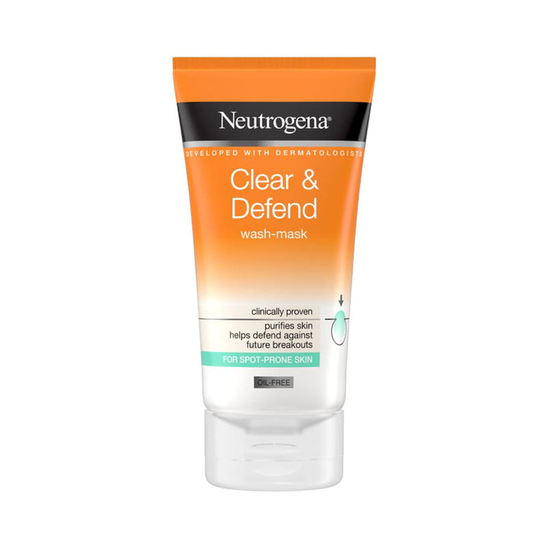 Neutrogena Clear & Defend Wash Mask 150ml