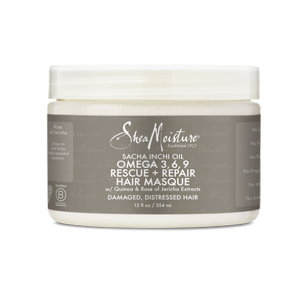 Sacha Inchi Oil Omega-3-6-9 Rescue + Repair Hair Masque