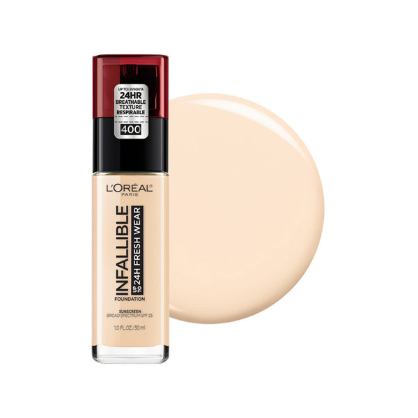 L'oreal Infallible 24 Hour Fresh Wear Foundation, Lightweight