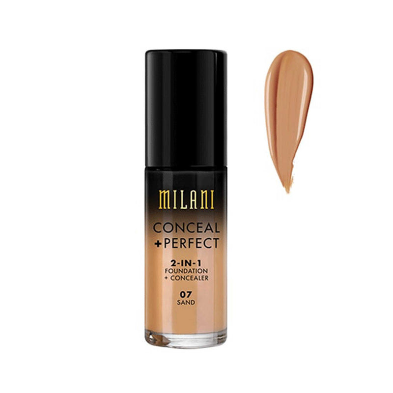 Milani Conceal And Perfect 2 In 1 Foundation And Concealer 30ml
