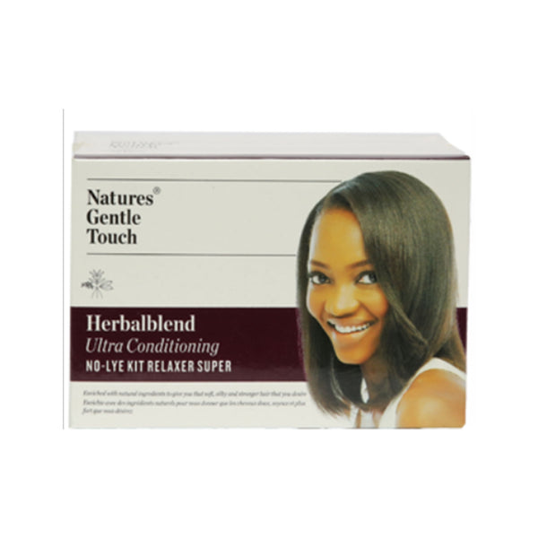 HERBALBLEND ULTRA CONDITIONING NO-LYE KIT RELAXER SUPER