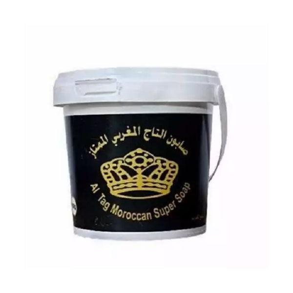 Al Tag Moroccan Black Soap - 600g