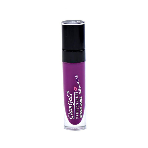 Professional Colorstay Lip Gloss Purple LIM17 by GlamGals for Women