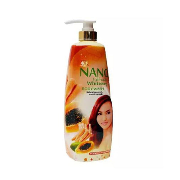 Nano Half Caste Whitening Body Wash 500ml