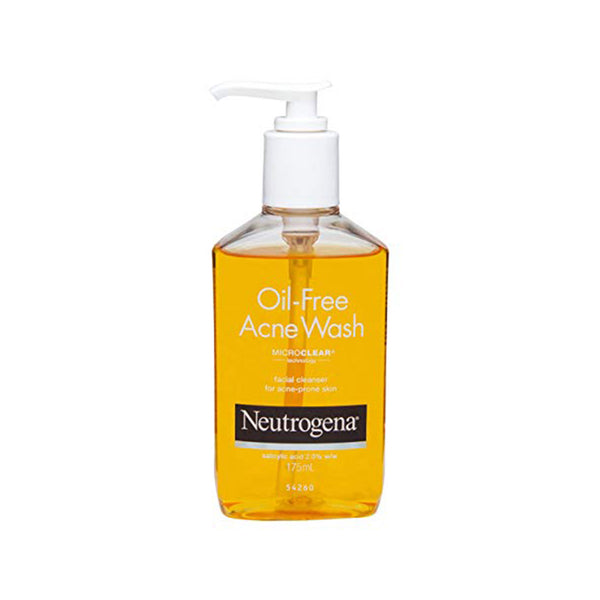 Neutrogena Oil-Free Acne Wash Facial Cleanser, MICROCLEAR