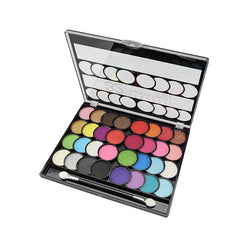 New York Perfect Thirty Two Colors Eyeshadow And Blush Palette