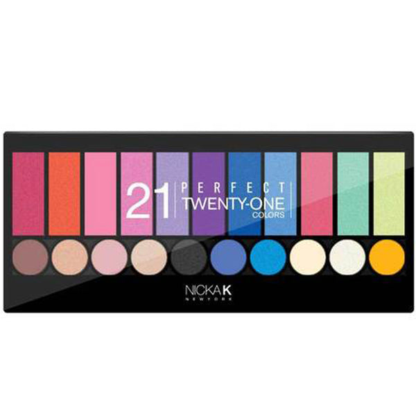 Newyork Perfect Twenty One Colors Eyeshadow And Blush Pallete