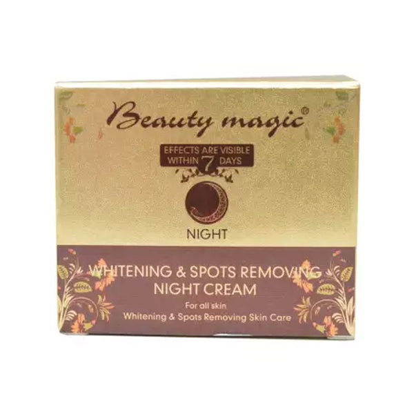 Beauty Magic Whitening  & Spots Removal Night Cream