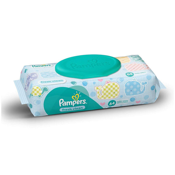 Pampers Fresh Clean Baby Wipes - Pack Of 12