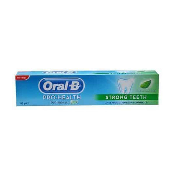 Oral-B Pro Health Strong Teeth Herbal Mint Gel Toothpaste – 140g