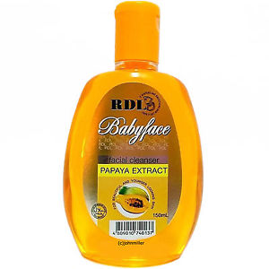 Rdl Babyface Facial Cleanser Papaya Extract 250ml