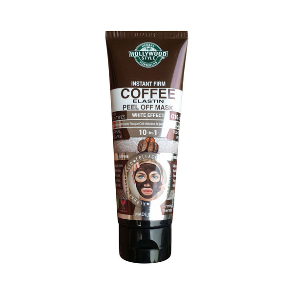 HOLLYWOOD STYLE INSTANT FIRM COFFEE ELASTIN PEEL OFF MASK 100ML