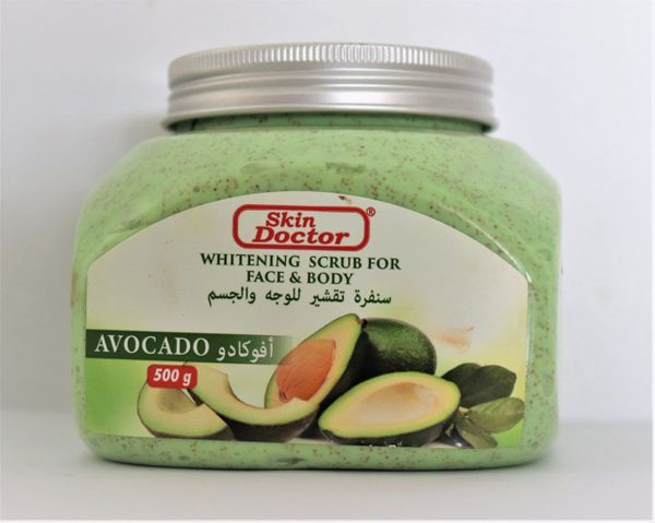 Skin Doctor Whitening scrub for face and body