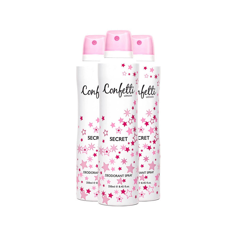 Confetti Secret Body Spray 250ml
