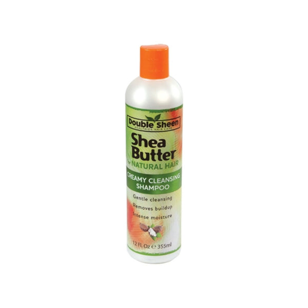 Double Sheen Shea Butter Cremy Clean Shampoo (12oz)