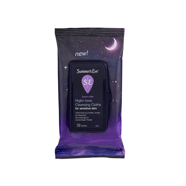 Summer's Eve Cleansing Cloths  Lavender  32 Count