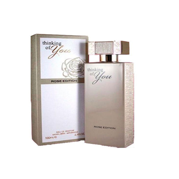 Fragrance World Thinking Of You Rose Edition EDP 100ml For Women