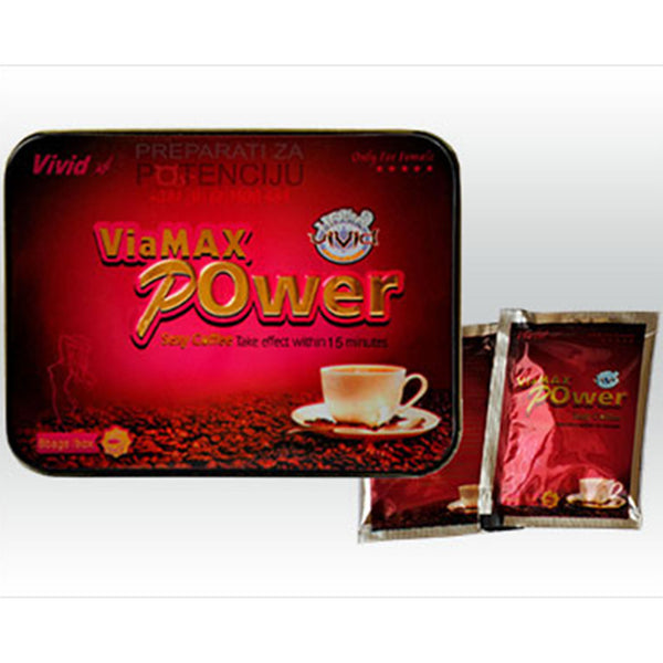 Viamax Libido Booster Sex Coffee (For Women)