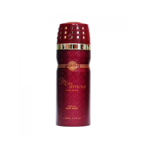Vivace - MON AMOUR Pour Femme Body Spray For Women 200 ML
