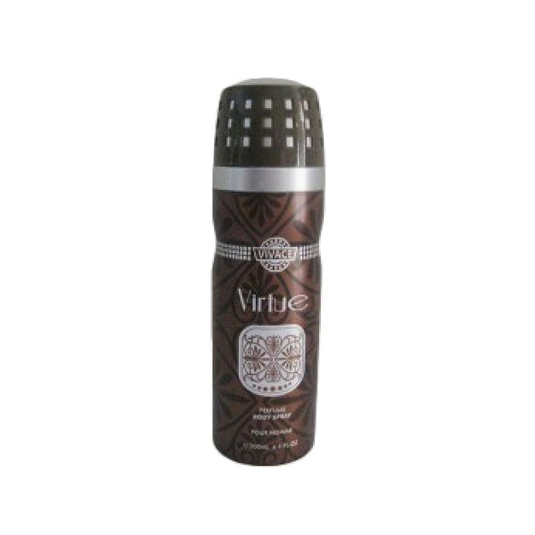 Vivace Virtue Deodorant Body Spray for Men 200 Ml