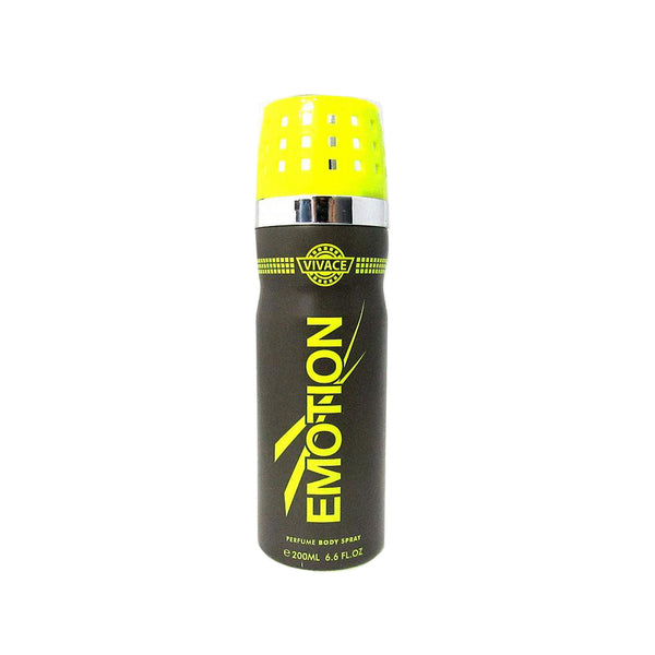 Vivace Emotion Deodorant Body Spray for Men 200 Ml