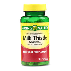 Spring valley Milk Thistle 175 Mg, 90 Capsules