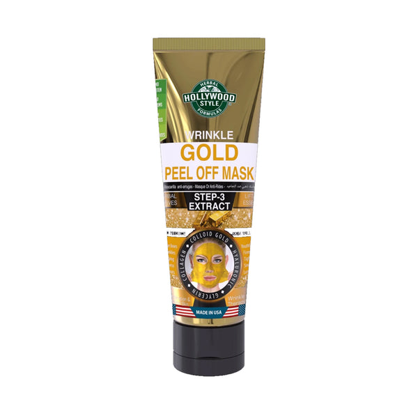 Hollywood Style Gold Peel Off Mask Step-3 Extract