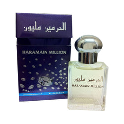 "Limited edition ""Haramain Million"" 15ml Pure Perfume Oil/Attar, with a blend of Lavender, Ylang Ylang, White Musk"