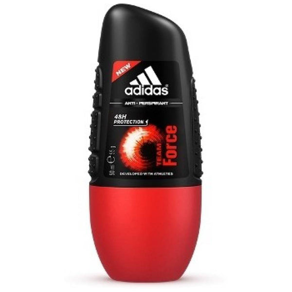 Adidas Team Force Deodorant Roll-On 48h Protection of 6 x 50 ml