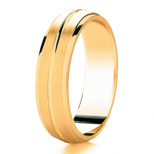 MyJeweller Diamond Cut wedding ring.