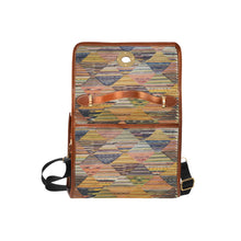 Load image into Gallery viewer, Moroccan geometric modern pattern handbag Waterproof Canvas Bag/All Over Print (Model 1641)
