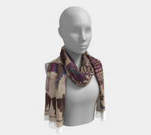 Load image into Gallery viewer, vintage bohemian scarf Moroccan and berber inspiration