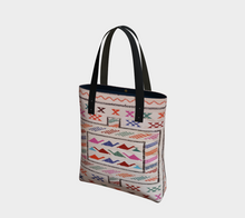 Load image into Gallery viewer, Berber style bag with pink pattern