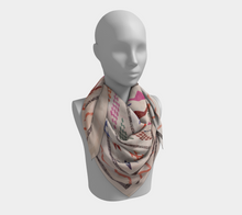 Load image into Gallery viewer, Moroccan berber vintage scarf with pattern bohemian style